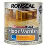 Ronseal Diamond Hard Coloured Floor Varnish - 2.5L