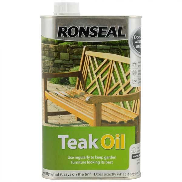 Ronseal Teak Oil Teak Oil For Interior And Exterior Hardwoods