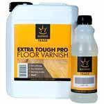 Manns Trade Extra Tough Pro Floor Varnish