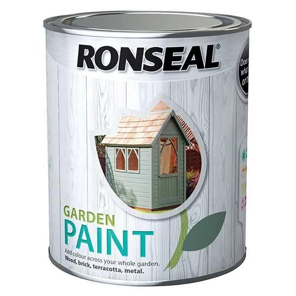 Ronseal Garden Paint Exterior Paint For Garden Surfaces