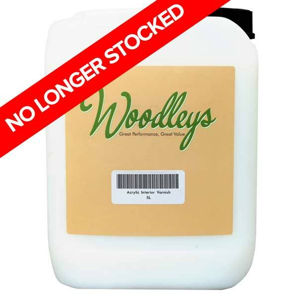 Woodleys Acrylic Interior Varnish