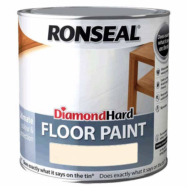 Ronseal Diamond Hard Floor Paint For Wood Amp Concrete Floors