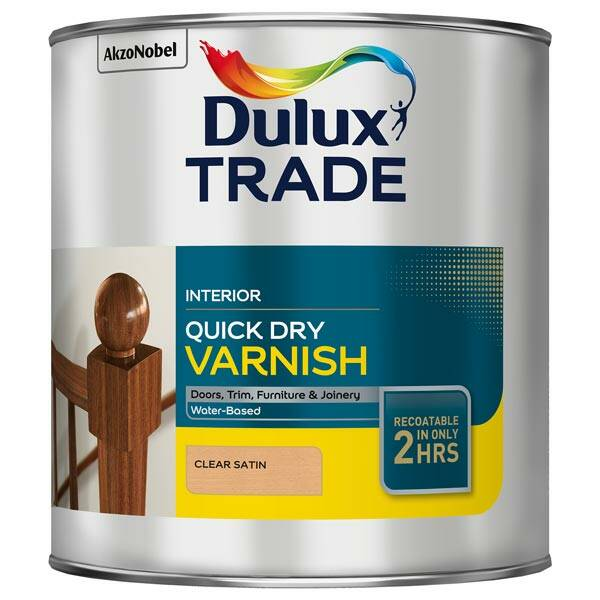 Dulux Trade Quick Drying Clear Varnish