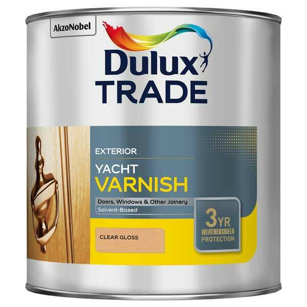 Superior Dulux Trade Clear Gloss Yacht Varnish
