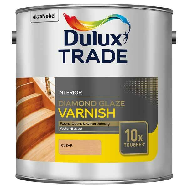 Dulux Trade Diamond Glaze Varnish