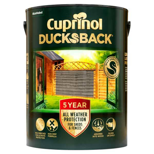 Cuprinol 5 Year Ducksback - 5L