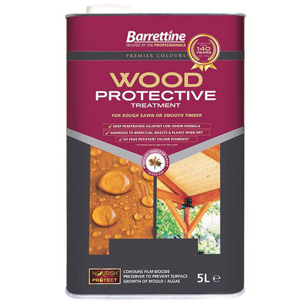 Barrettine Wood Protective Treatment. Wooden Garden Furniture Treatment   Outdoor Furniture Preserver