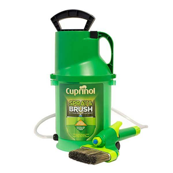 Cuprinol Spray and Brush