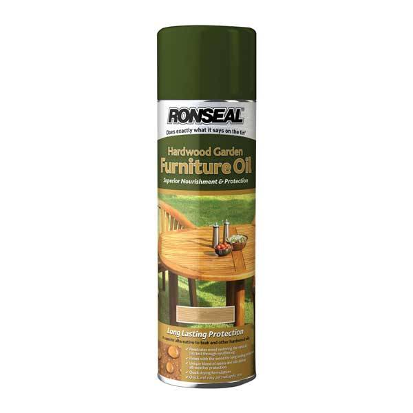 Ronseal Hardwood Furniture Oil Spray Wood Finishes Direct