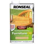 Ronseal Ultimate Protection Hardwood Furniture Oil - 1L