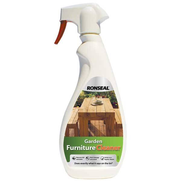 Ronseal Garden Furniture Stain Ronseal garden furniture cleaner spray wood finishes direct ronseal garden furniture cleaner 750ml workwithnaturefo