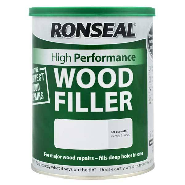 Ronseal high performance wood filler wood finishes direct for Wood floor hole filler