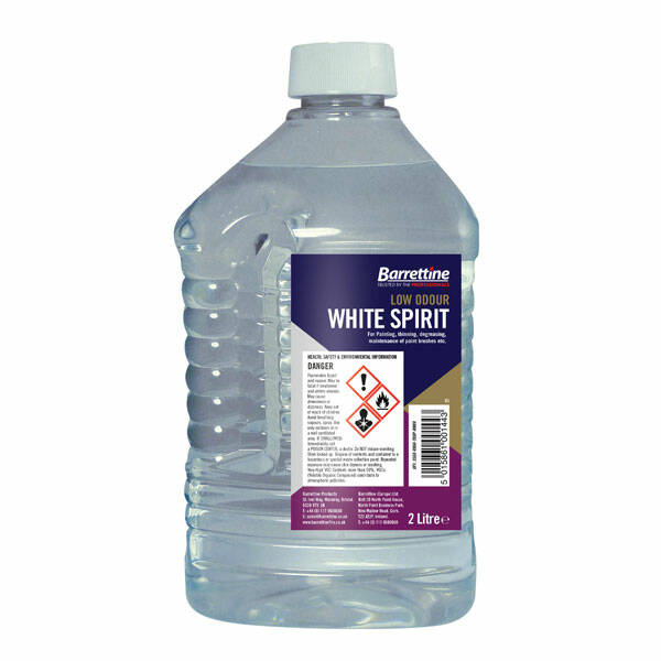 Barrettine Low Odour White Spirit