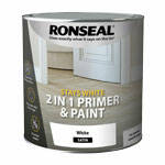 Ronseal Stays White 2 in 1 Primer and Paint