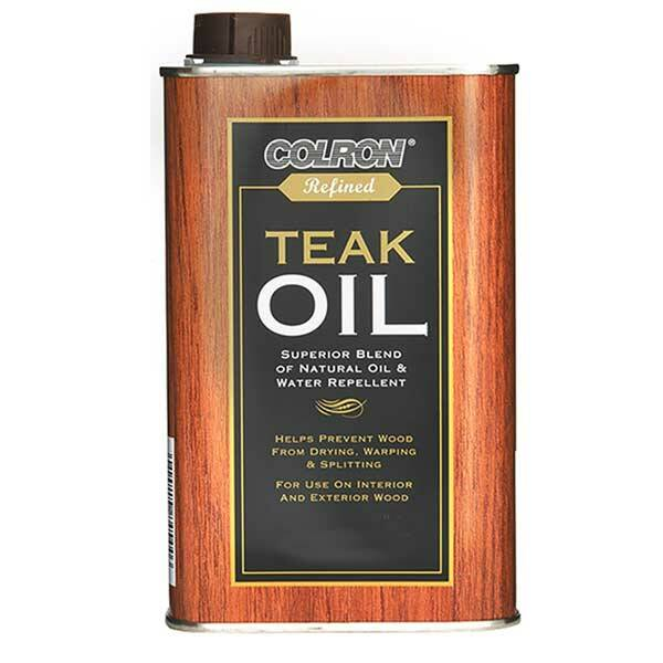 Colron Refined Teak Oil Wood Finishes Direct