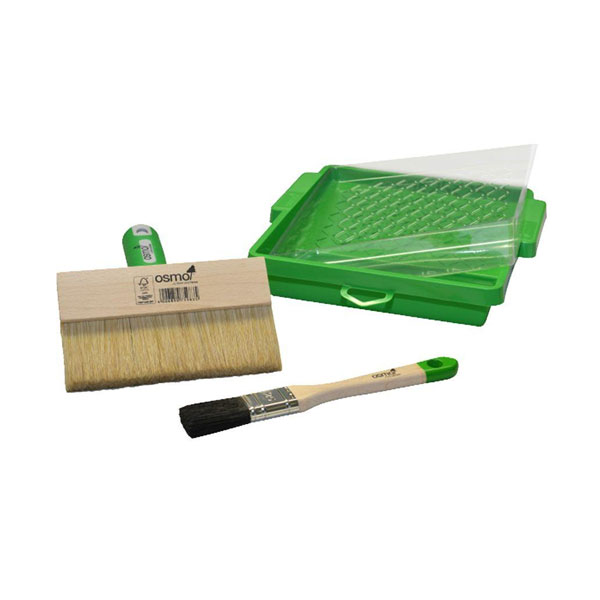 Osmo Decking Brush and Tray Set
