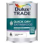 Dulux Trade Quick Dry Satinwood Paint