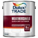 Dulux Trade Weathershield Quick Dry Exterior Paint