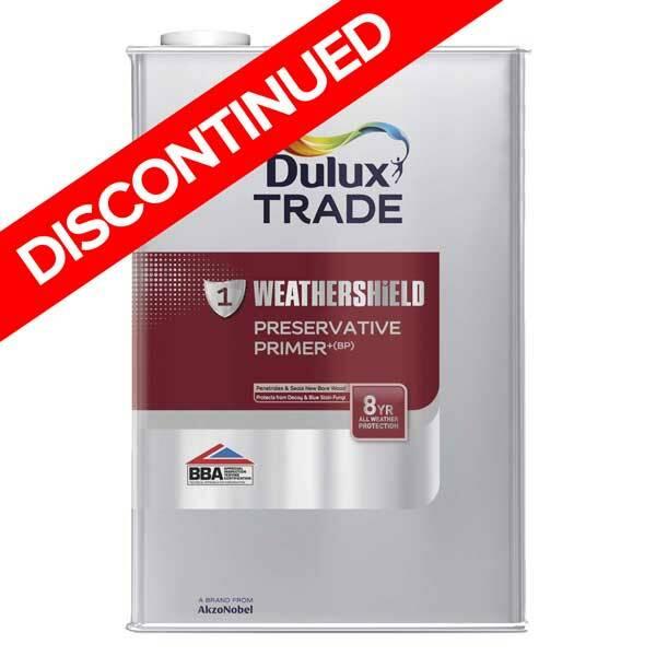 Dulux Trade Weathershield Preservative Primer Bp