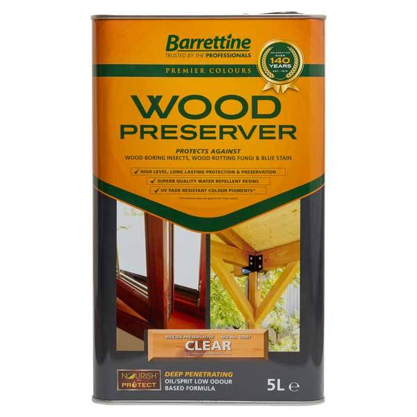 Barrettine wood preserver wood finishes direct - Cedar wood preservative exterior ...