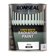 Ronseal Stays White Radiator Paint
