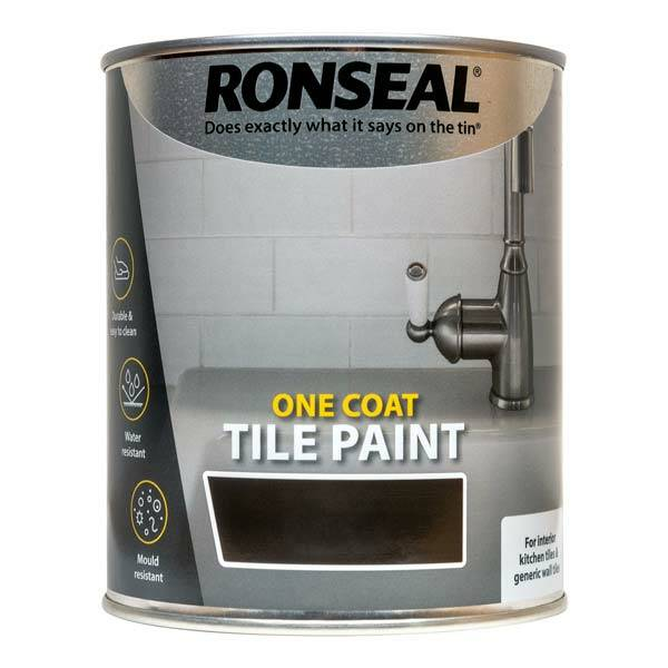 Ronseal one coat tile paint wood finishes direct - Best one coat coverage interior paint ...