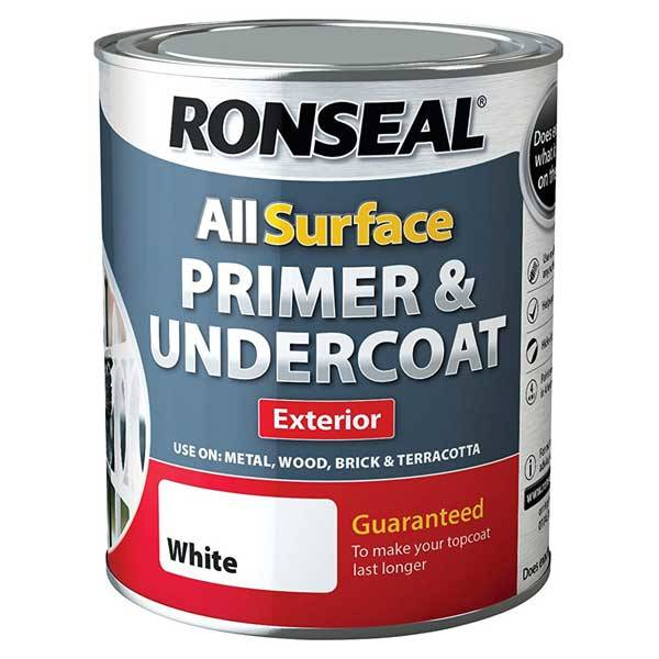 Superb Ronseal All Surface Primer And Undercoat   Exterior 750ml