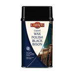 Liberon Liquid Wax Polish Black Bison