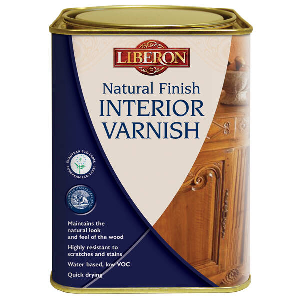 Liberon Natural Finish Interior Varnish