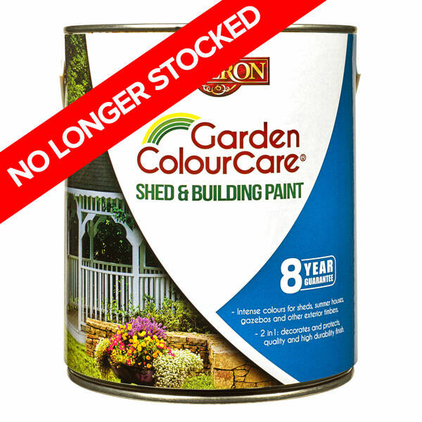 Liberon Garden ColourCare Shed and Building Paint