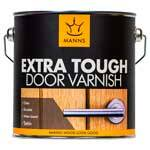Manns Extra Tough Door Varnish