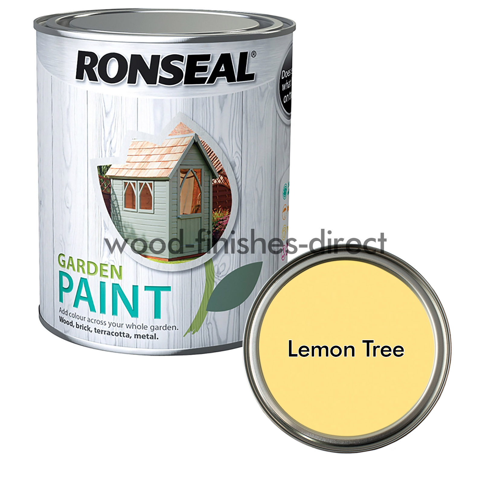 Ronseal Exterior Garden Paint Available In 28 Colours 750ml 2 5L